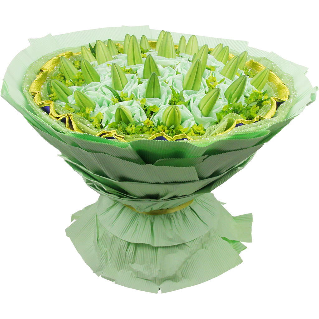 花束包装方法图解