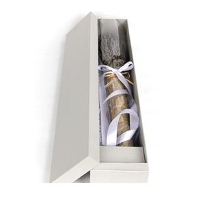 鲜花/信念:匠心设计,英国蓝薰衣草花盒(礼盒中有少量花粒脱落,此