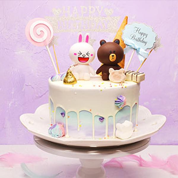蛋糕/可爱公主: 进口优质淡奶油,巧克力等  [包 装]:购买