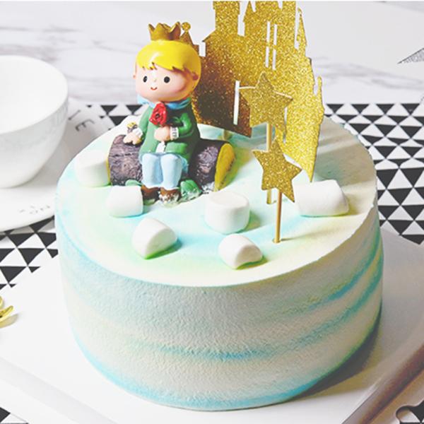 蛋糕/小王子: 进口优质淡奶油  [包 装]:购买蛋糕附送贺