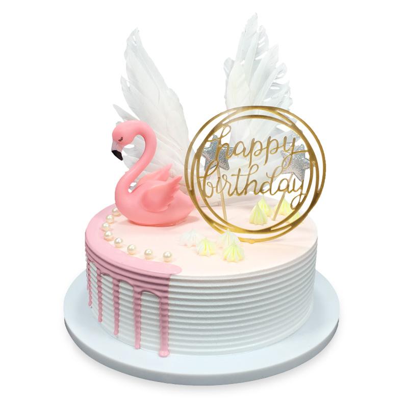 蛋糕/好梦甜甜: 进口优质淡奶油  [包 装]:购买蛋糕附送贺