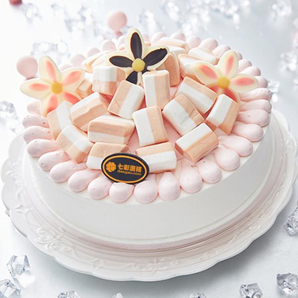 蛋糕/粉色童话: 进口优质淡奶油,优选棉花糖。  [包 装]: