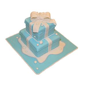 蛋糕/【翻糖蛋糕】童心未泯: 翻糖蛋糕(需提前预定。双层蛋糕,上下两层的尺寸