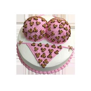 蛋糕/爱情迷阵:鲜奶鸡蛋胚+美味奶油造型 祝 愿:陷入你的浪漫迷阵