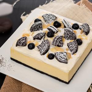 蛋糕/奥利奥芝士: 香脆巧克力,清香果仁,新鲜奶酪  [包 装]