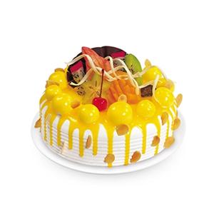 蛋糕/香甜可口: 鲜奶蛋糕,水果(时令水果)  [包 装]:购