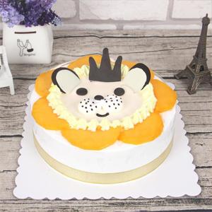 蛋糕/狮子座专属蛋糕: 新鲜奶油、水果夹层蛋糕胚  [包 装]:高档
