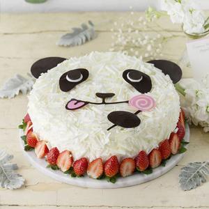 蛋糕/熊猫贝贝: 时令水果、鸡蛋、奶油、巧克力  [包 装]: