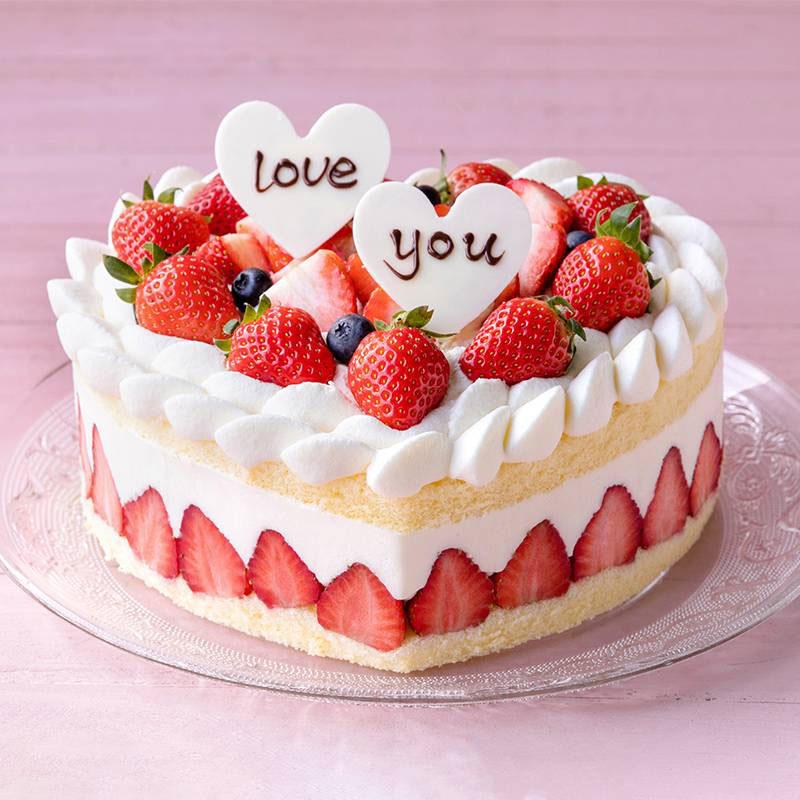 蛋糕/草莓之恋: 草莓、蓝莓、巧克力、鸡蛋、奶油  [包 装]