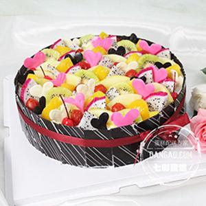 蛋糕/缤纷盛果: 祝 愿: 保 存:0-4°C保存1天,4小时内