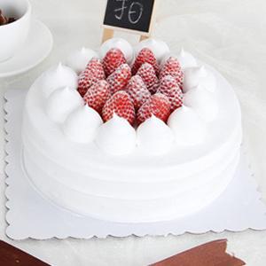 蛋糕/欢乐颂:鲜奶鸡蛋配+新鲜时令水果 祝 愿:一月有雪,二月有