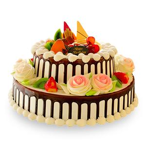蛋糕/幸福安康: 新鲜水果、优质奶油、鸡蛋牛奶蛋糕胚  [包