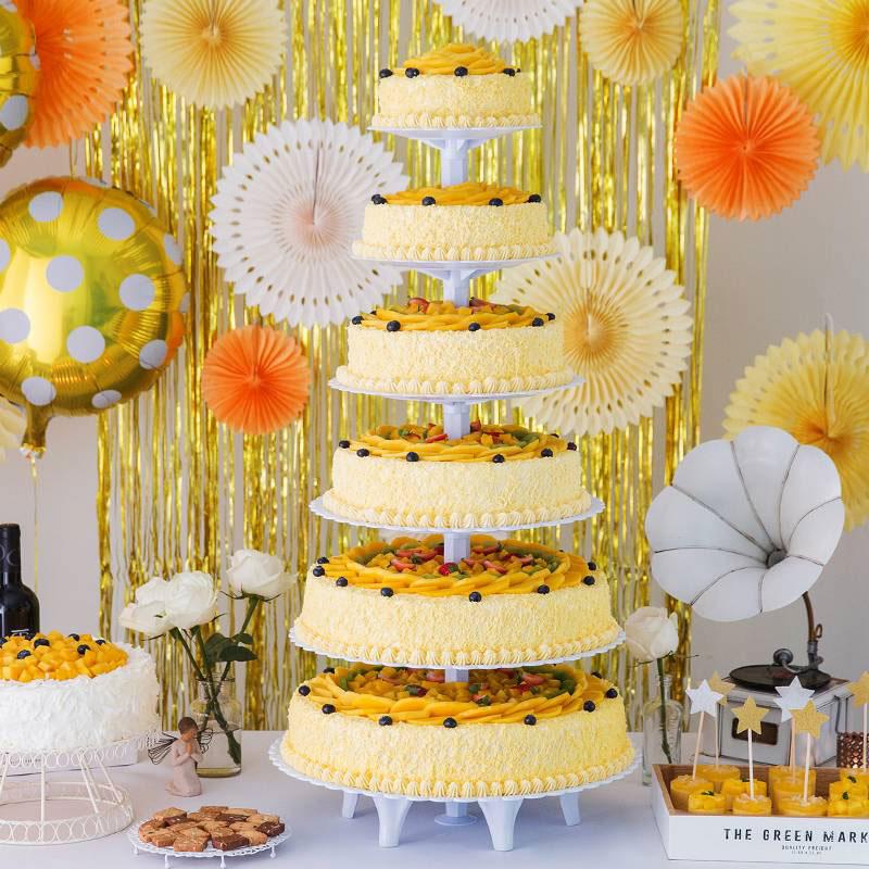 蛋糕/幸福城堡: 奶油、鸡蛋、芒果肉  [包 装]:高档礼盒包