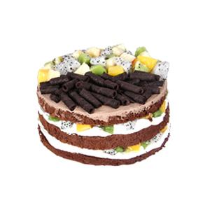 蛋糕/获取芳心: 鸡蛋牛奶巧克力胚,新鲜奶油搭配当季时令水果、巧