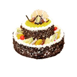 蛋糕/健康长乐: 新鲜奶油搭配时令水果  [包 装]:高档礼盒