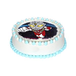 蛋糕/卡通动漫数码蛋糕: 数码定制蛋糕,新鲜奶油  [包 装]:高端礼