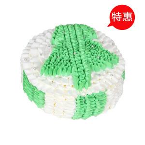 蛋糕/甜蜜圣诞节: 萌化圣诞树,新鲜奶油  [包 装]:高档礼盒