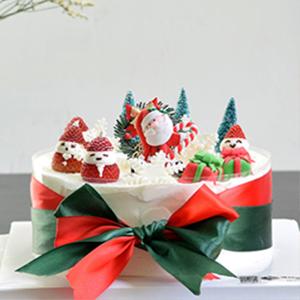 蛋糕/欢乐派对:鲜奶鸡蛋胚+精美翻糖造型/巧克力/玩偶 祝 愿:圣