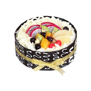 蛋糕/熟悉的歌: 新鲜奶油,鸡蛋牛奶戚风胚  [包 装]:高档