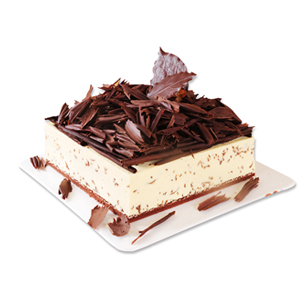 蛋糕/魔法黑森林: 可口慕斯,黑森林巧克力屑,底面巧克力胚  [