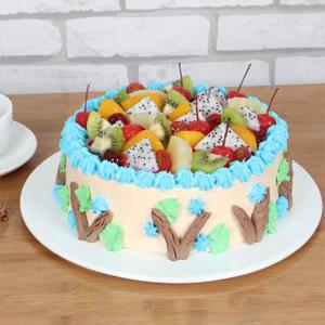 蛋糕/快乐星球: 多种时令水果,新鲜奶油  [包 装]:高档礼