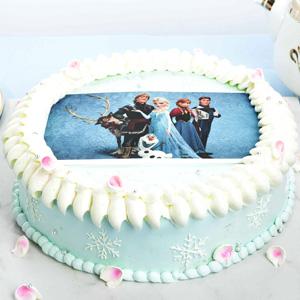 蛋糕/卡通数码蛋糕: 数码蛋糕,使用新鲜奶油制作,图案为食用糯米纸打