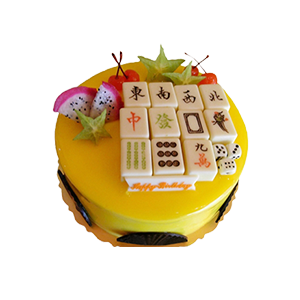 蛋糕/天天向上:鲜奶鸡蛋胚+巧克力块+新鲜时令水果 祝 愿:恭喜发