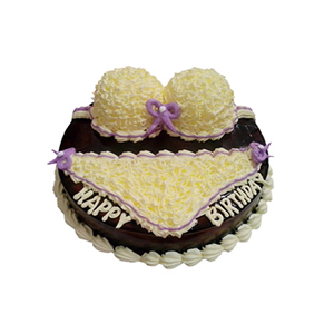 蛋糕/你我的小情话: 比基尼形状巧克力艺术蛋糕  [包 装]:购买