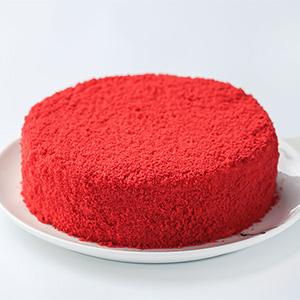 蛋糕/最爱这一抹红: 红丝绒芝士蛋糕  [包 装]:高档礼盒包装,