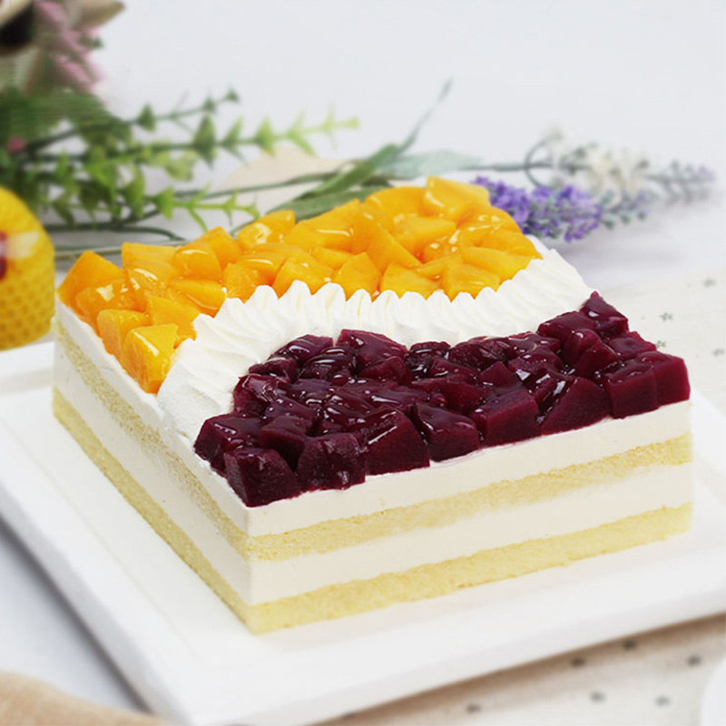 蛋糕/塞纳河畔: 慕斯,新鲜水果  [包 装]:高档礼盒包装,