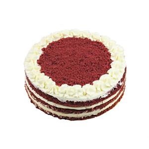 蛋糕/红丝绒裸蛋糕: 乳酪芝士、新鲜奶油、天然红曲粉、黄油、细砂糖。