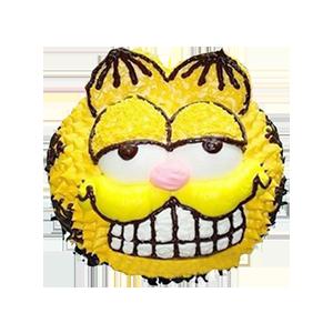 蛋糕/加菲的幸福生活:新鲜奶油 祝 愿:你的爱宠,加菲猫先生 保 存: