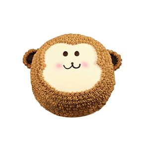 蛋糕/小猴可可: 小猴形状奶油蛋糕。(该款为艺术蛋糕,请提前咨询