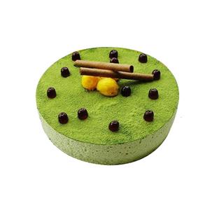 蛋糕/迷香: 圆形抹茶蛋糕  [包 装]:购买蛋糕附送贺卡