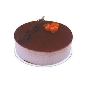 蛋糕/珍爱一生: 提拉米苏蛋糕,巧克力卷和水果装饰。(请提前2-