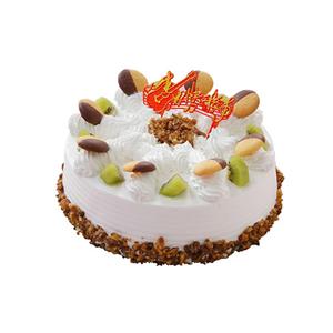 蛋糕/甜心派: 圆形冰淇凌蛋糕,时令水果装饰(请提前2-3天以
