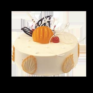 蛋糕/甜蜜港湾:冰淇淋蛋糕搭配巧克力装饰 祝 愿:简约而不简单的温