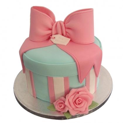 【翻糖蛋糕】米妮的蝴蝶结