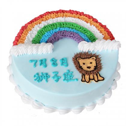 狮子座蛋糕