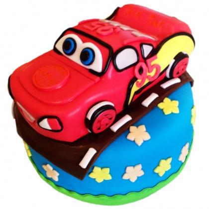 【翻糖蛋糕】汽车总动员